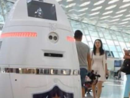 El robot vigilante Anbot destinado a los colegios
