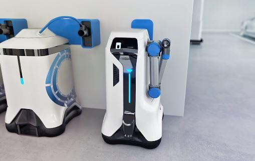 El cobot para recarga de vehículos eléctricos de Volkswagen para cualquier aparcamiento